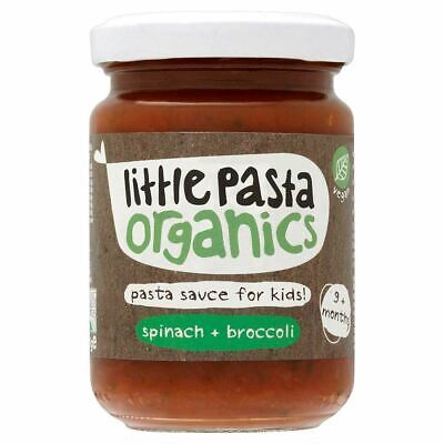 LITTLE PASTA ORGANICS | Spinach & Broccoli Sauce | 1 x 130g