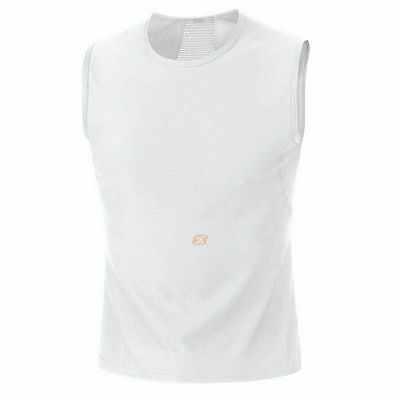 Camiseta Gore Bike Wear Baselayer Functional Sin mangas Blanco