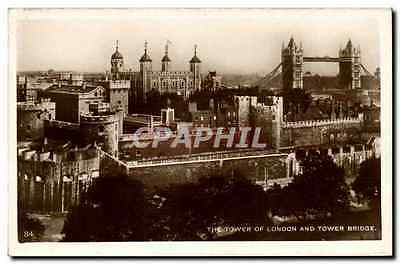 Angleterre - England - London - Londres - The Tower of London and Tower Bridge -