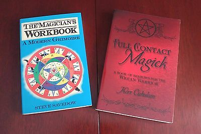 Full Contact Magick & The Magician's Workbook - Wicca - Grimoire