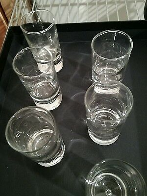 6 glass shot glasses