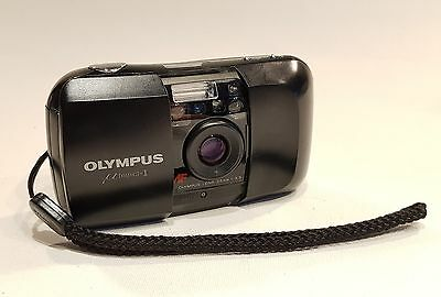 Olympus Mju I 35mm compact camera with F3.5 prime lens - Fully working