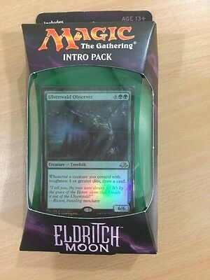 Magic The Gathering Eldritch Moon Intro Deck White Green Weapons And Wards