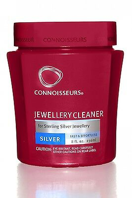 Silver Jewellery Cleaner Connoisseurs Liquid Polish Solution New Tarnish Remove