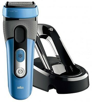 Braun CoolTec CT4s Men's Cord/Cordless Wet & Dry Electric Shaver