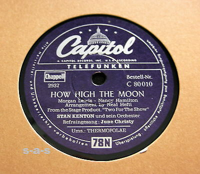 Nice Price: Stan Kenton - How High The Moon + June Christy / Thermopolae (1017)