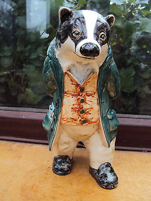 Cinque Ports Pottery Rye Country Gentleman/wind In The Willows William Badger