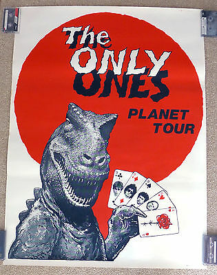 The Only Ones Peter Perrett Punk Original 1978 Promo Poster