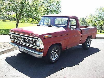 1972 Ford F-100 Shortbox 1972 Ford F100