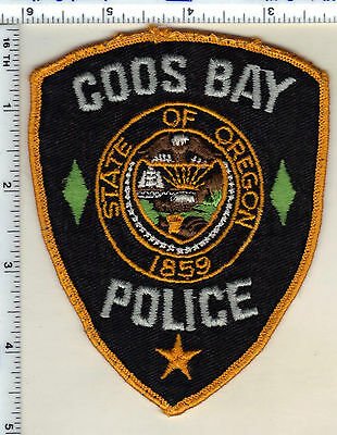 Coos Bay Police (Oregon) Uniform Take Off Shoulder Patch from the early 1980's