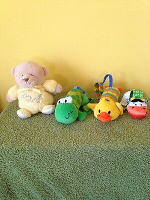 Lot Of 4 Infant Rattles