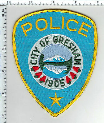 City of Gresham Police (Oregon) Shoulder Patch - new rom the 1980's