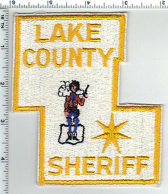 Lake County Sheriff (Oregon) Shoulder Patch - new rom the 1980's