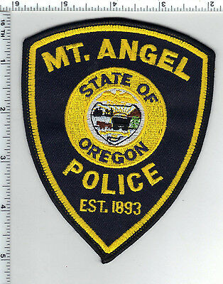 Mt. Angel Police (Oregon) Shoulder Patch - new from the 1980's