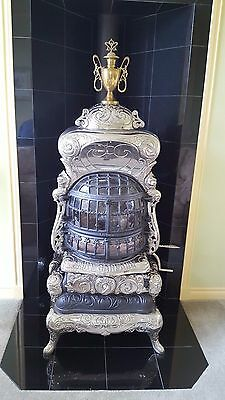 Antique Art Garland #58 Cast Iron Gas/Propane Parlor Stove Works Great Will Ship