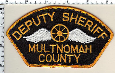 Multnomah County Deputy Sheriff (Oregon) Shoulder Patch - new from 1987