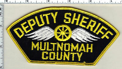 Multnomah County Deputy Sheriff (Oregon) Shoulder Patch - from the early 1980's