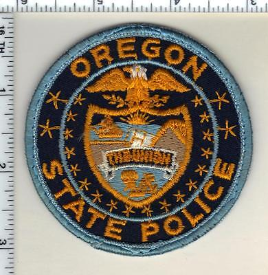 State Police (Oregon) Uniform Take Off Shoulder Patch from the early 1980's RARE