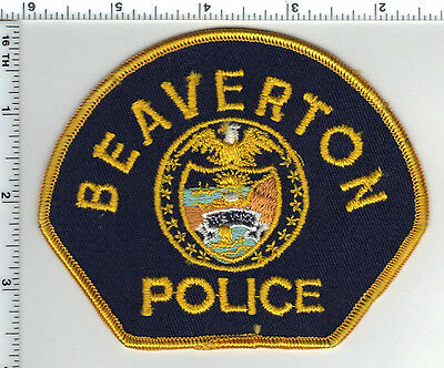 Beaverton Police (Oregon) Shoulder Patch - new from the 1980's