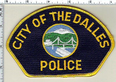 City of the Dalles Police (Oregon) Shoulder Patch - new from 1989