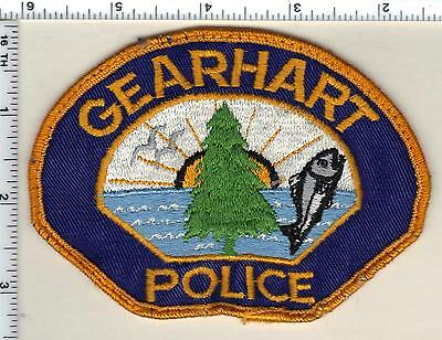 Gearhart Police (Oregon) Uniform Take Off Shoulder Patch from 1989