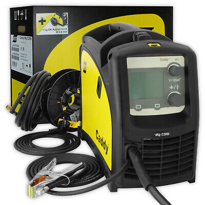 NEW! ESAB CADDY MIG C200i INVERTER WELDING DEVICE MACHINE