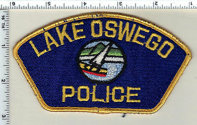Lake Oswego Police (Oregon) Uniform Take Off Shoulder Patch from 1989