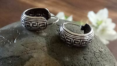 Authentic Mexican Silver 925 Earrings Free Cleaning Clothes
