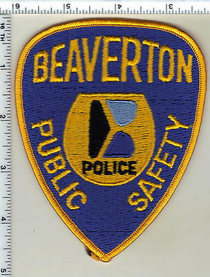 Beaverton Public Safety (Oregon) Shoulder Patch - new from 1992