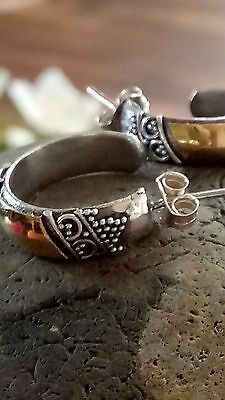 Mexican Silver Earrings 925 Silver. Free Cleaning Clothes.