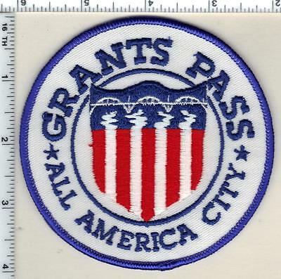 Grant's Pass Police (Oregon) Shoulder Patch - new from 1990