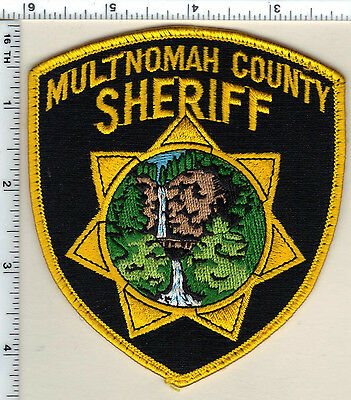 Multnomah County Sheriff (Oregon) Uniform Take Off Shoulder Patch from 1997