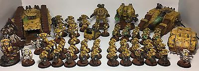 Imperial Fists Army - Pro Painted 30/40k