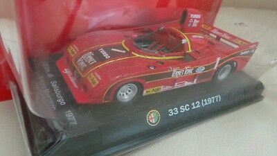 Collectable Alfa Romeo Diecast 1;43 Scale Racing Car..new In  Blisterpack