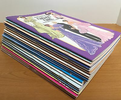 Large Lot of 20 Uncut Paper Dolls Full Color books - by Tom Tierney and others