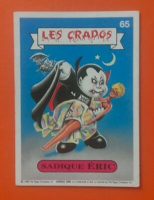Carte Vignette Les Crados 65 French Nasty Nick