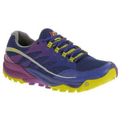Zapatillas Merrell All Out Charge Lila-Lima Mujer