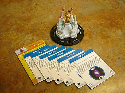 Heroclix Marvel Infinity Gauntlet Resource with all 6 Gems (Complete)