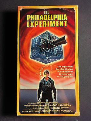 Rare The Philadelphia Experiment VHS Tape Movie Brand New Sealed  1992