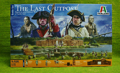 THE LAST OUTPOST FRENCH AND INDIAN WAR 1754 1763 1/72 Italeri 6180