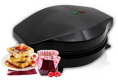 NEW Electric Waffle Maker 5 Heart-Shaped Non-Stick Plates 1200W