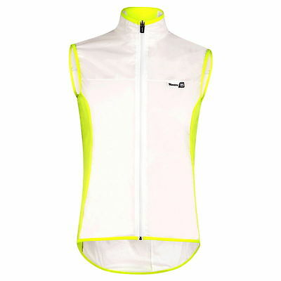 Chaleco Santini Ice 2.0 Windproof Amarillo
