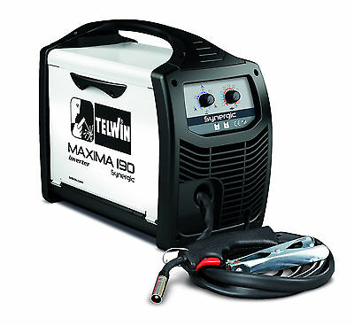Telwin MAXIMA 190 DISPOSABLE REG KIT 170amp gas/gasless synergic MIG/MAG welding