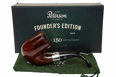 Peterson 150th Anniversary Founder's Edition Tobacco Pipe - Smooth