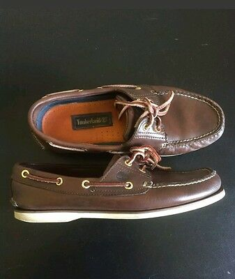 Mens timberland Deck / boat brown  Shoes sz 8.5