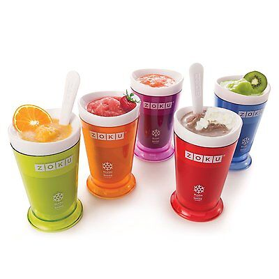 GENUINE Zoku Slush and Shake maker - frozen smoothies and milkshakes in minutes