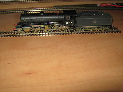 Hornby R3305 BR 2-6-0 Class K1 62059 Late Crest Weathered