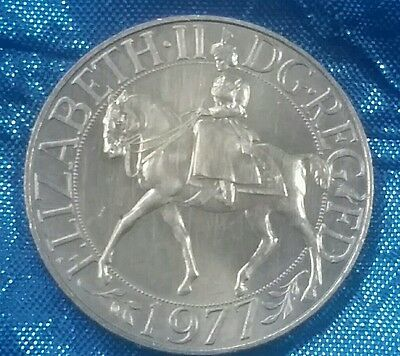 1977 Silver Jubilee Coin - Elizabeth Ii - Crown - Uncirculated