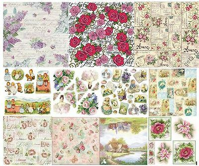 Rice paper  50x50cm. Decoupage. scrapbooking. crafts. STAMPERIA