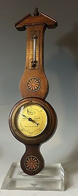 Antique Andrew J. Lloyd Company, Boston  Barometer Thermometer Federal Style